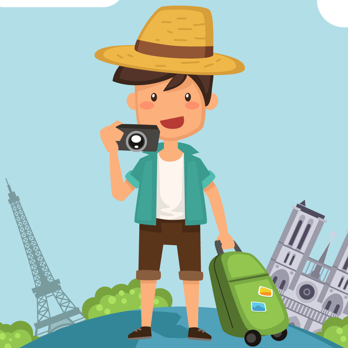 Travel Around The World For Work